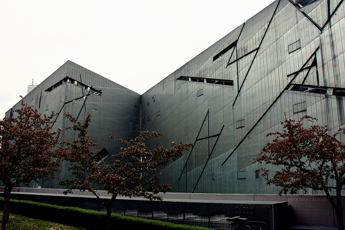 Музей холокоста в Берлине