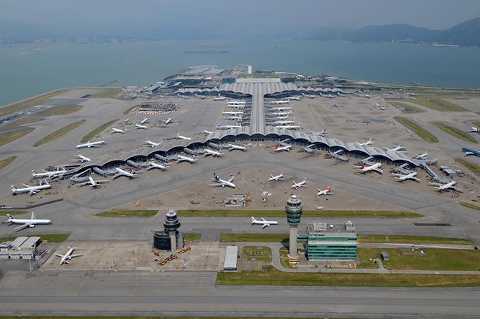Международный аэропорт в Гонконге