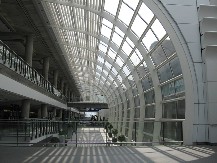 Интерьер аэропорта