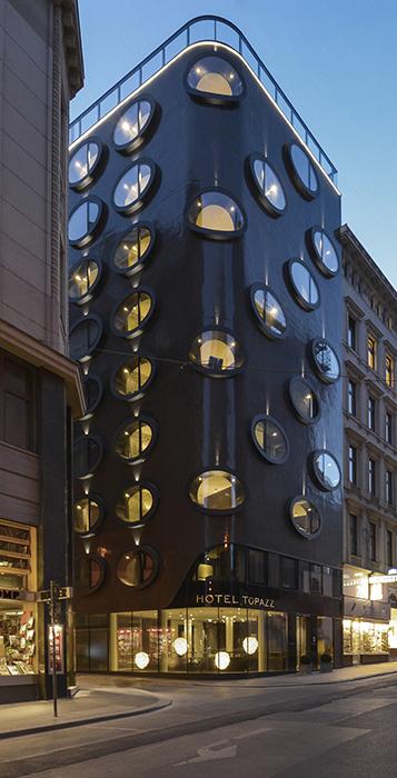 Отель Topazz в Вене