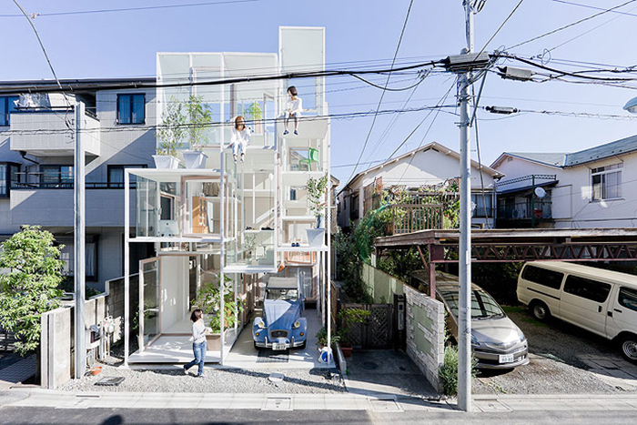 Жилой дом House Na в Токио