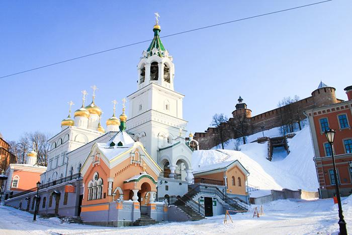 Храм Рождества Иоанна Предтечи зимой