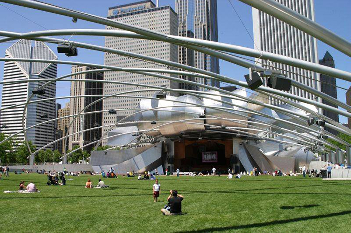 Павильон Джея Притцкера в Чикаго