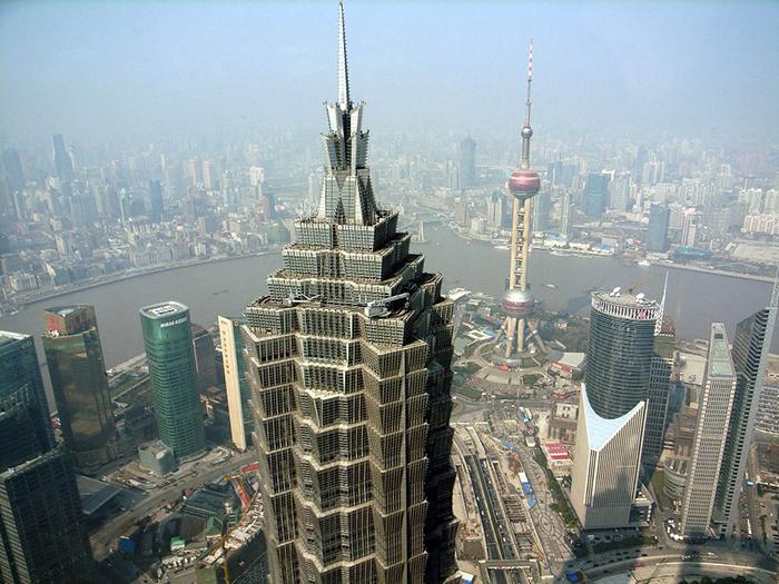 Небоскреб Мао Цзиня в Шанхае
