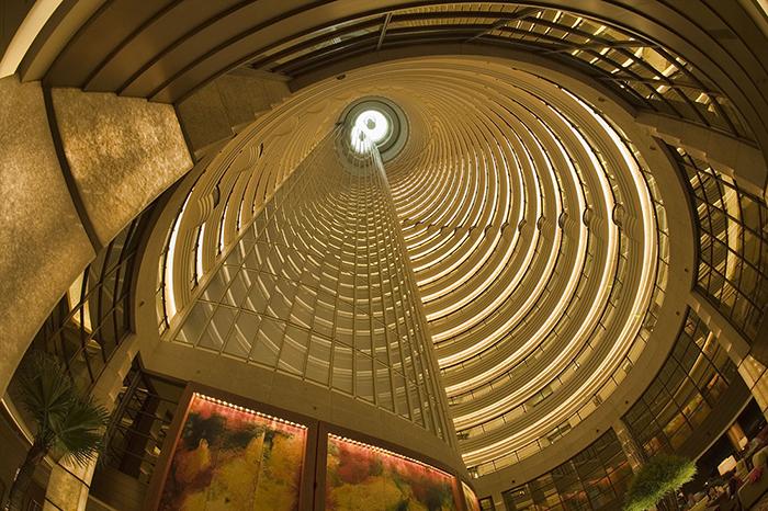Фрагмент интерьера башни