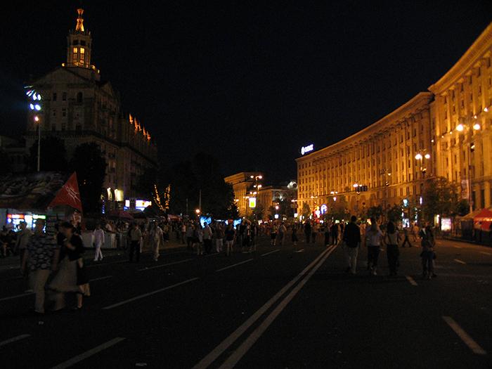 Крещатик в Киеве