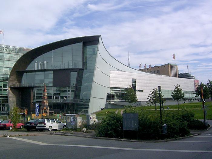 Музей современного искусства «Киасма» в Хельсинки, Финляндия