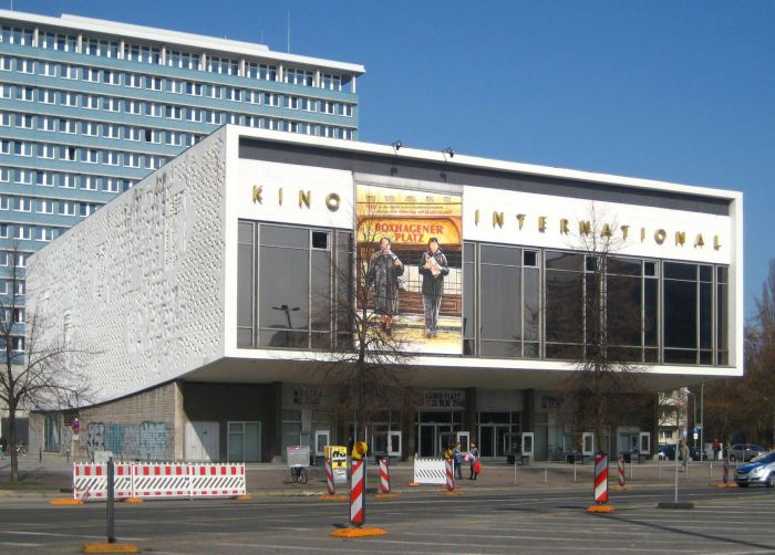 Кинотеатр Kino International в Берлине