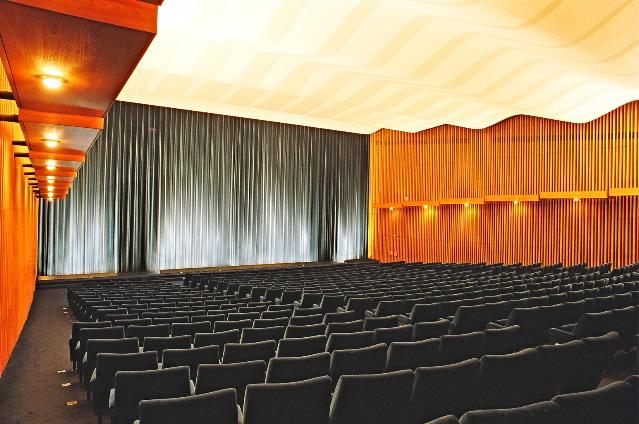 Интерьер кинотеатра