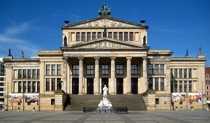 Концертный зал в Берлине, Германия