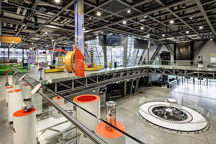 Центр науки «Коперник» в Варшаве: интерьер помещений