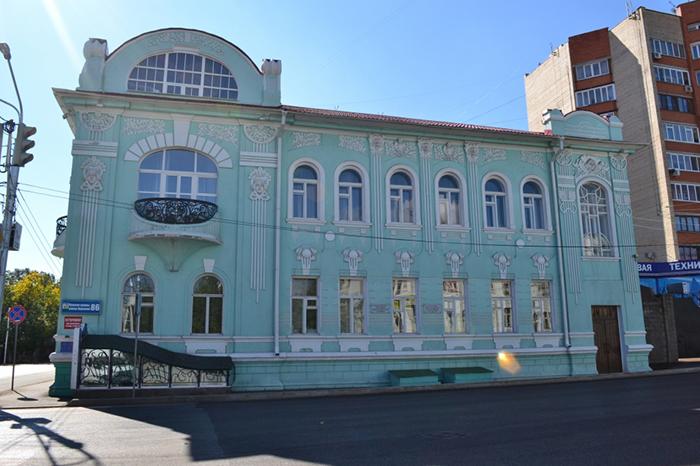 Дом-особняк П.И. Костерина и С.А. Черникова