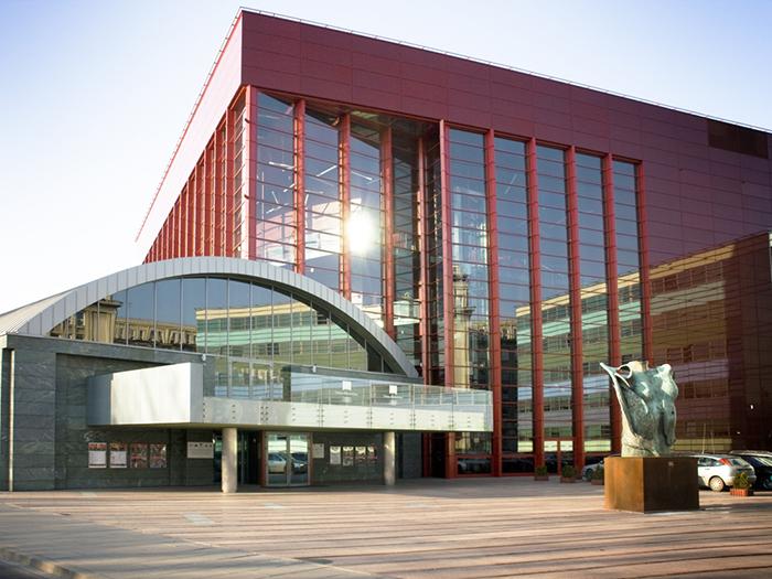 Новое здание оперного театра в Кракове