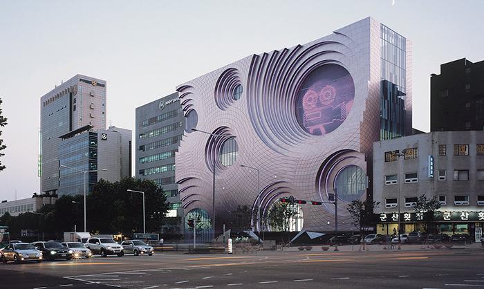 Культурный комплекс Kring в Сеуле