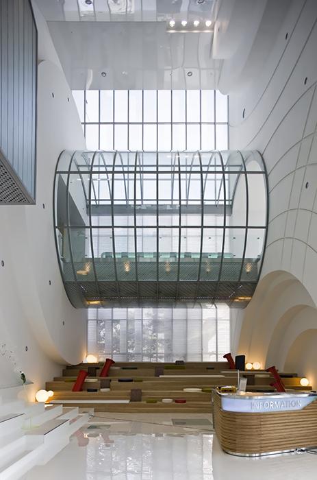 Культурный комплекс Kring в Сеуле: интерьер помещения