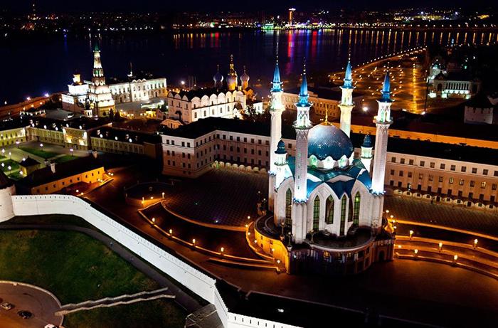 Казань: 40 невероятных архитектурных шедевров столицы республики Татарстан (Часть 1)