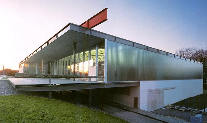 Выставочный центр «Кунстхал» в Роттердаме, Голландия