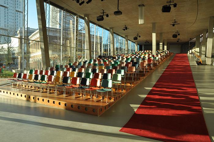 Выставочный центр «Кунстхал» в Роттердаме, Голландия: интерьер помещения