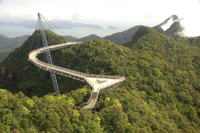 Небесный мост в Лангкави, Малайзия