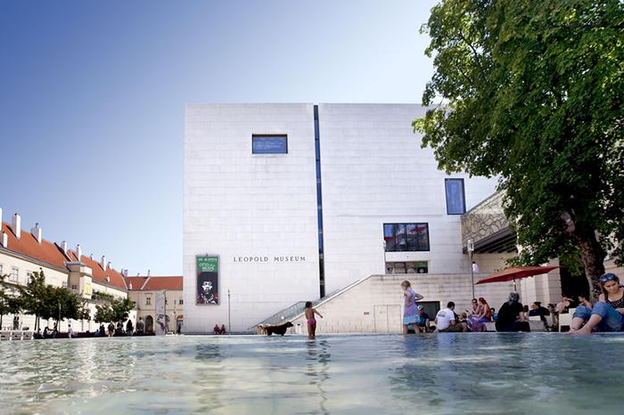 Художественный музей Леопольда в Вене