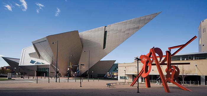Художественный музей в Денвере, США