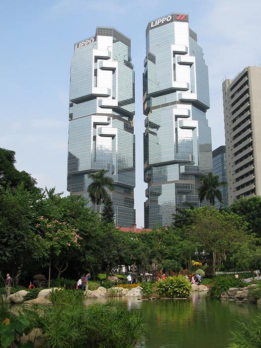 Липпо-Центр в Гонконге