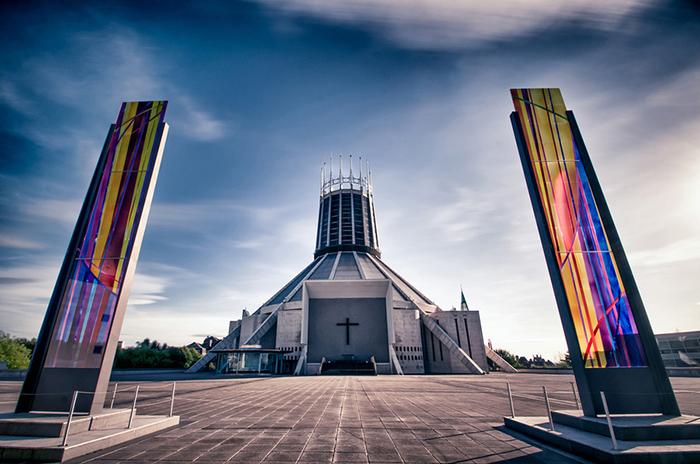 Метропольный собор в Ливерпуле