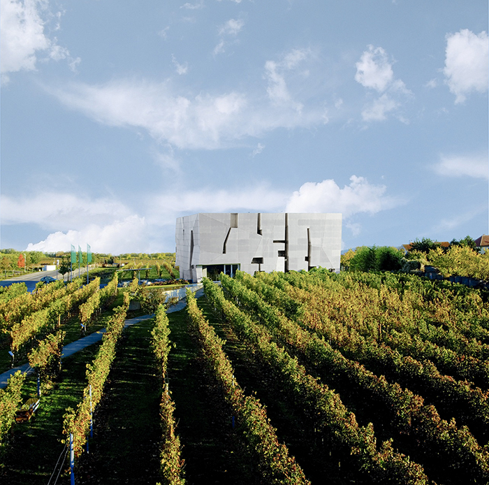 Музей вина и СПА-курорт «Лоизиум» в Лангенлойсе