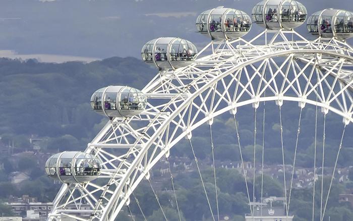 Колесо обозрения «Лондонский глаз» в Лондоне