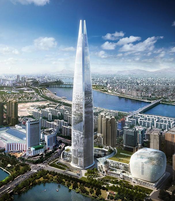 Проект будущего небоскреба Lotte Town Tower