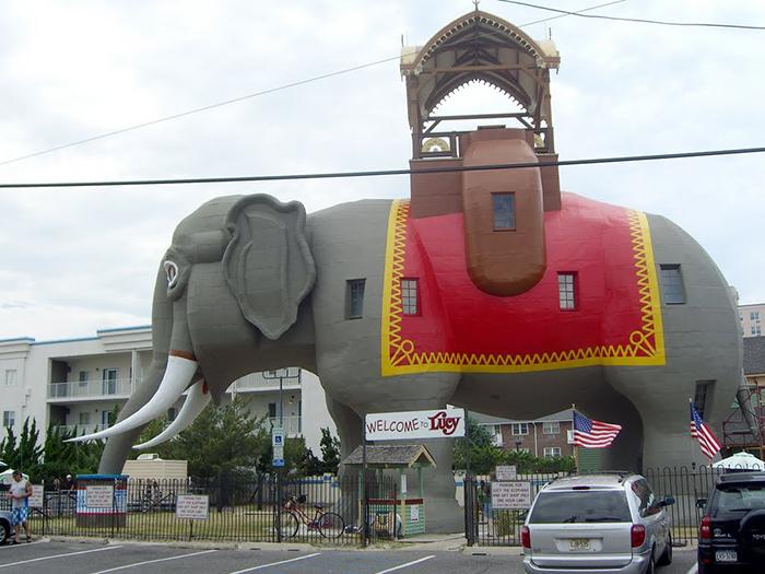Музей «Слониха Люси» в Маргейт-Сити, США