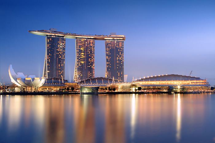 Гостиничный комплекс Marina Bay Sands