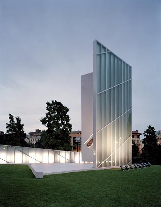 Мемориал жертвам теракта 11 сентября в Падуе