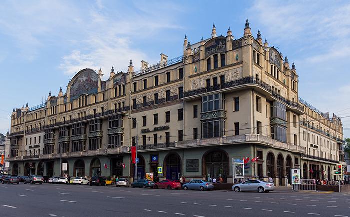Гостиница «Метрополь» на Театральном проезде