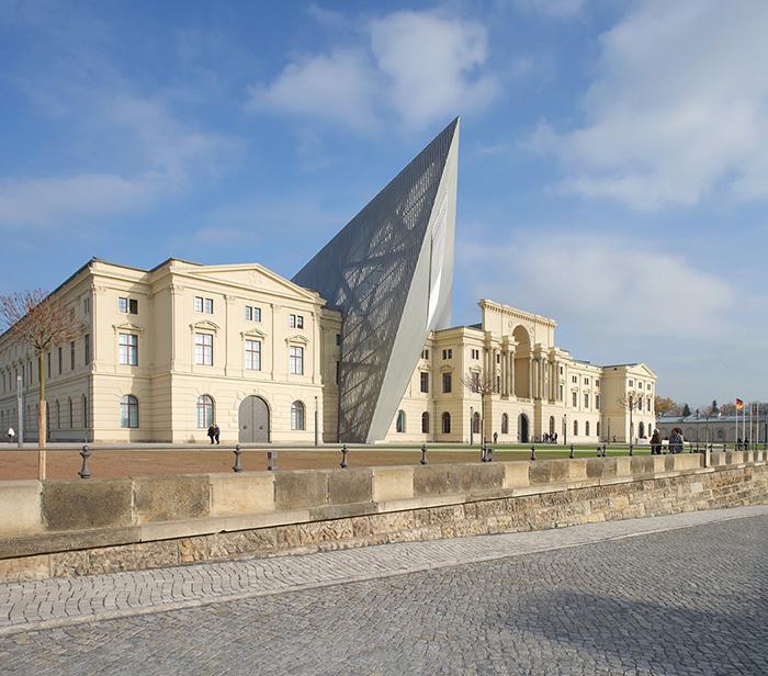 Военно-исторический музей в Дрездене, Германия