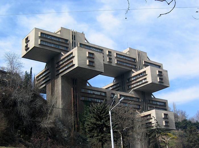 Здание Министерства автомобильных дорог Грузинской ССР в Тбилиси, Грузия