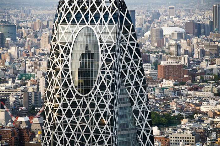 Фрагмент небоскреба