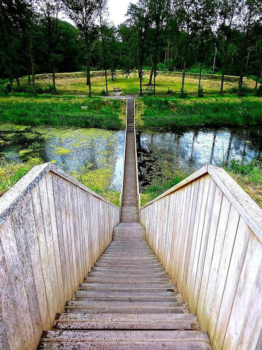 'Мост Моисея' в Хальстерене