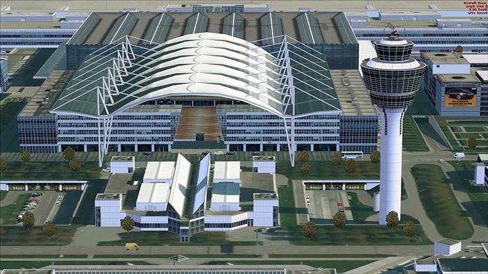 Международный аэропорт «Франц-Йозеф Штраус» в Мюнхене
