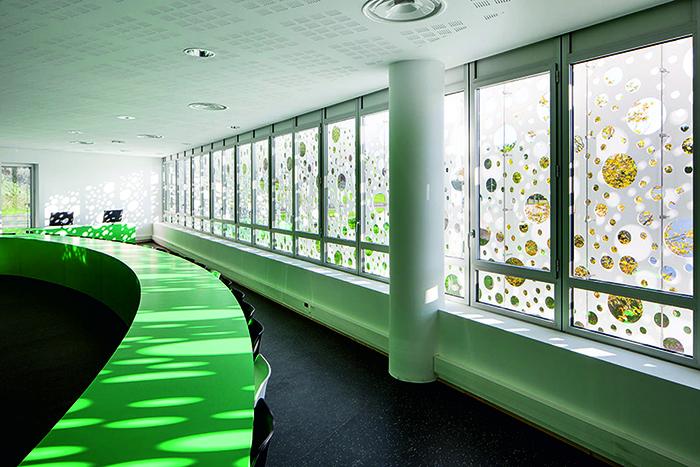 Муниципальный офисный центр в Лаке: интерьер помещения