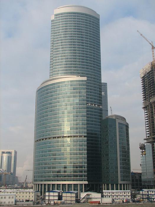 Комплекс Башня на набережной в Москве.