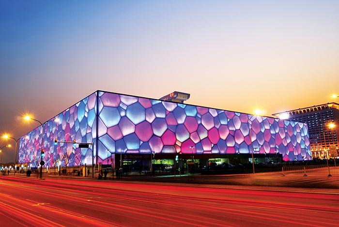 Национальный центр водных видов спорта в Пекине