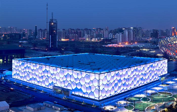 Центр водных видов спорта в Пекине