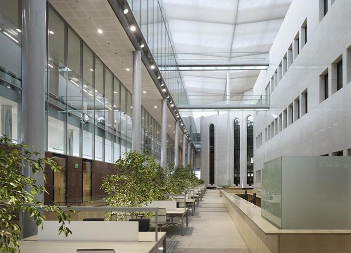 Национальная библиотека Сингапура: интерьер помещения