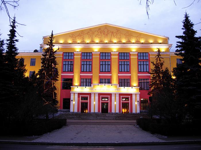 Уфимский государственный нефтяной технический университет: главный фасад