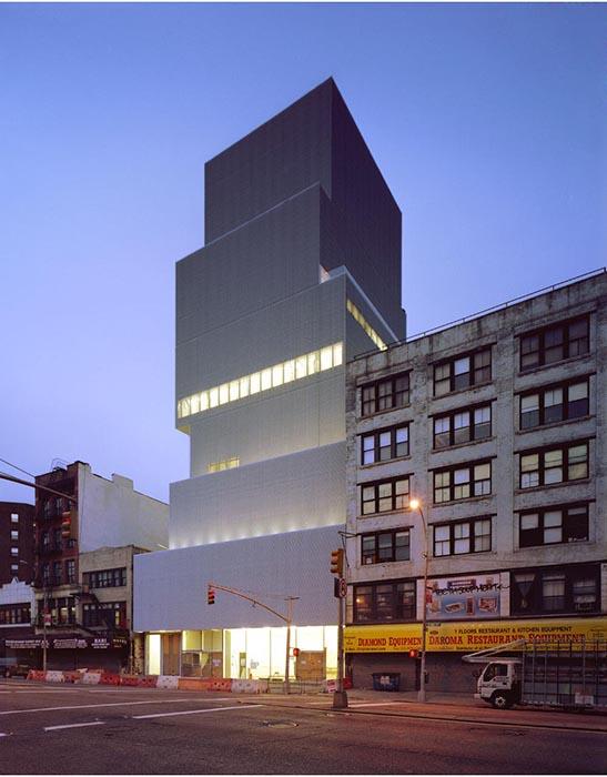Новый музей современного искусства на Манхэттене