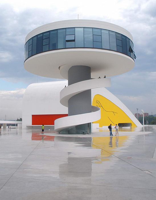 Культурный центр Оскара Нимейера в Авилесе