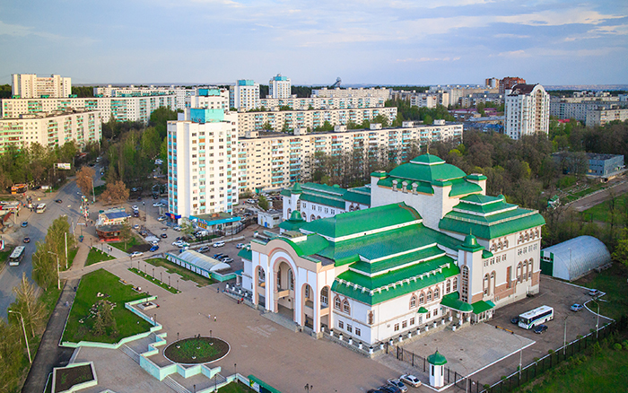 Уфимский государственный татарский театр «Нур»: с высоты птичьего полета