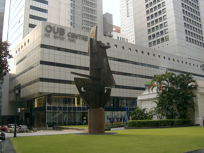 Небоскреб OUB в Сингапуре