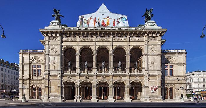 Здание государственной оперы в Вене